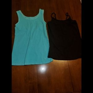 Lot of 2 Girls Justice Tanks size 8